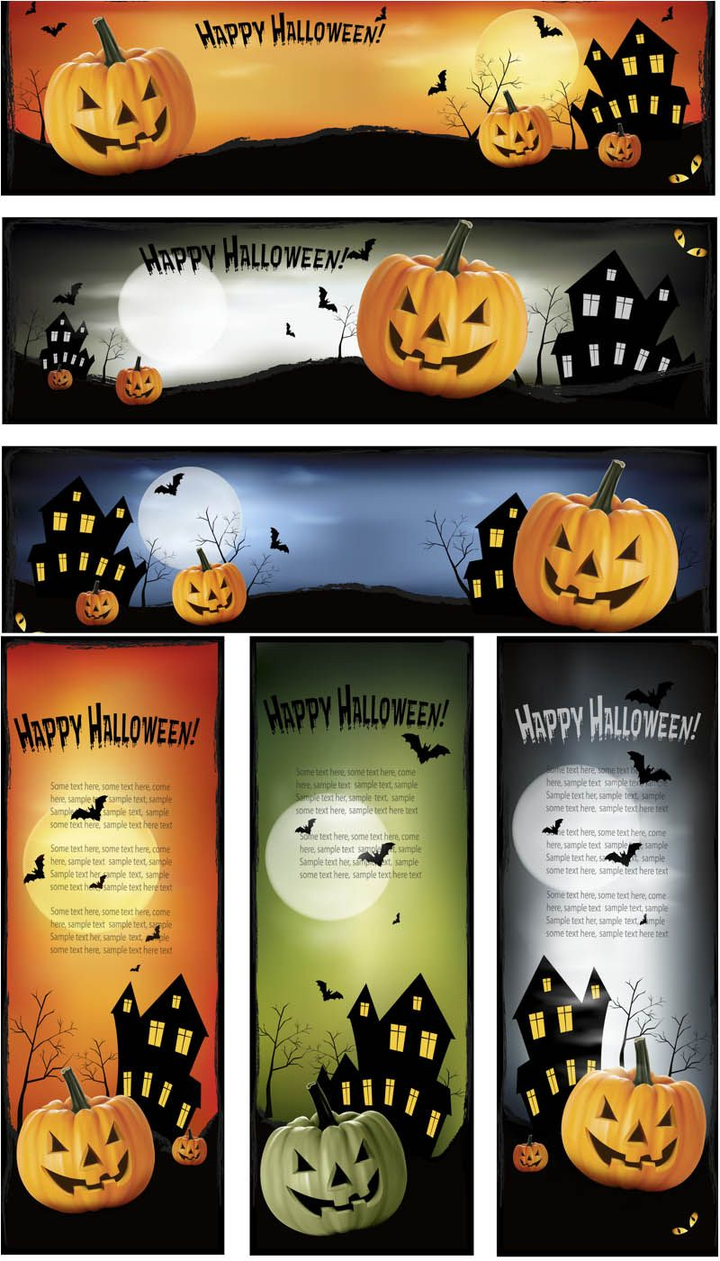 100 halloween decorations backgrounds patterns and illustrations 2013 vector graphics blog