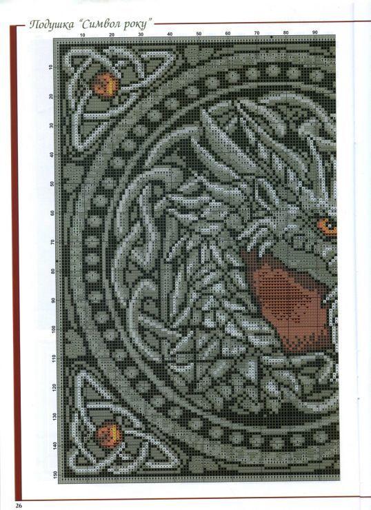 Celtic Dragon Cross Stitch Part 1 Dragon Cross Stitch