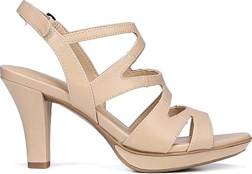 40b0358ab3a Naturalizer Women s Shoes in Taupe Smooth Color. Stay fancy in the Dianna  Dress Sandal from Naturalizer.  Naturalizer  taupeshoes  shoes  fashion   style ...