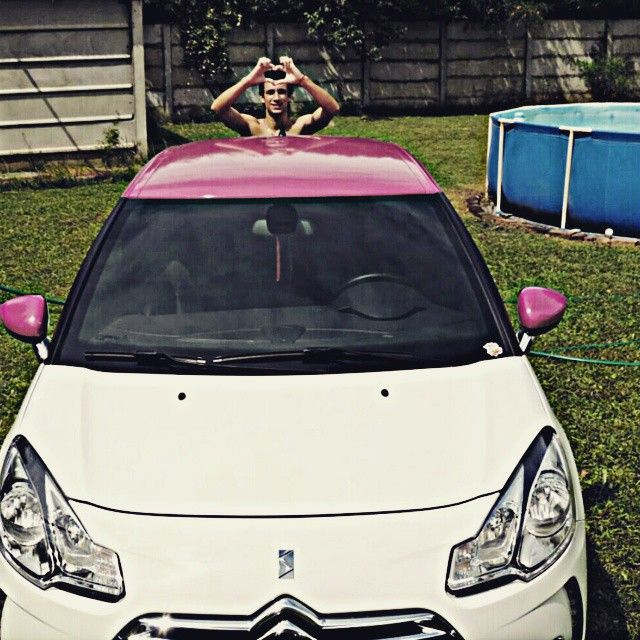 Instagram by lucasbucci25 -  #DS3 #pink #love