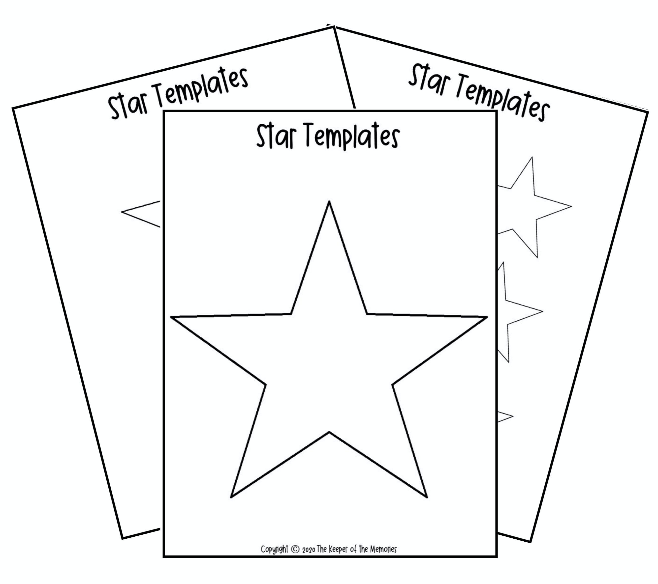 Free Printable Star Template Star Template Star Template Printable Templates Printable Free [ 2357 x 2653 Pixel ]