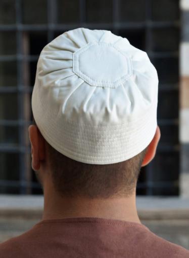 Mercerized Cotton Pleated Kufi Hat Hat Designs Hats For Men Hats