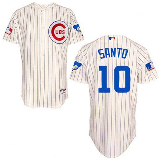 Chicago Cubs 1969 Throwback Ron Santo Mitchell & Ness jersey