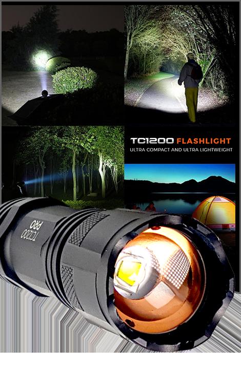 Tc1200 Pro Tactical Flashlight 1tac Com Flashlight Cool Gadgets To Buy Tactical Flashlight