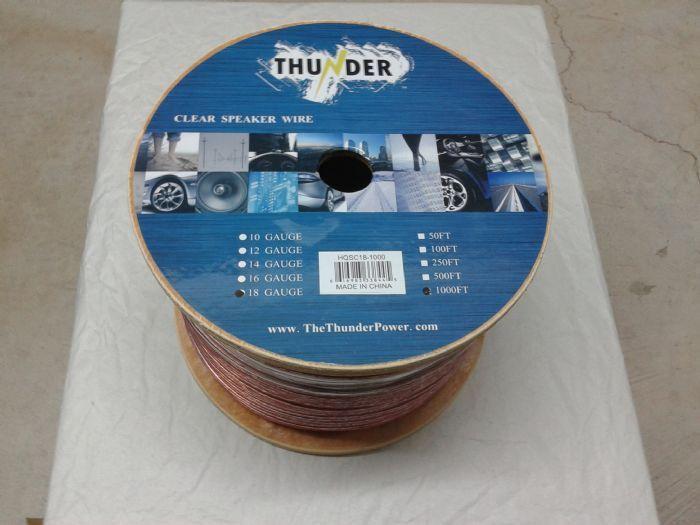 Clear Speaker Wire 16 Gauge 1000 Feet | Products | Pinterest ...