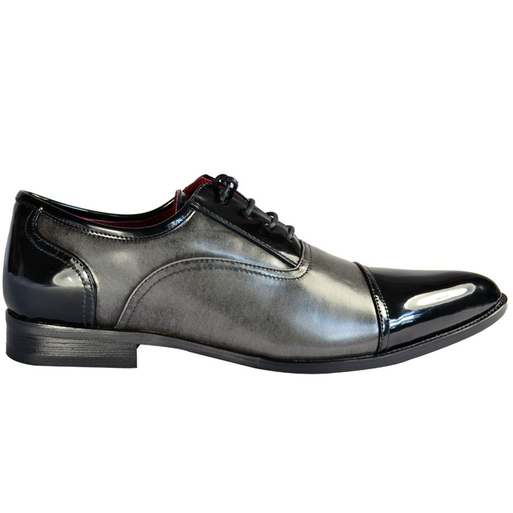 Grey Men's Dress Shoes for Wedding