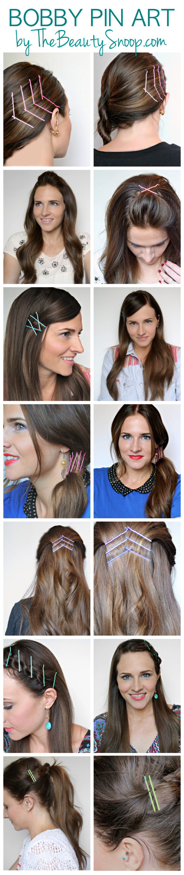 Fashion week How to colored wear bobby pins for girls