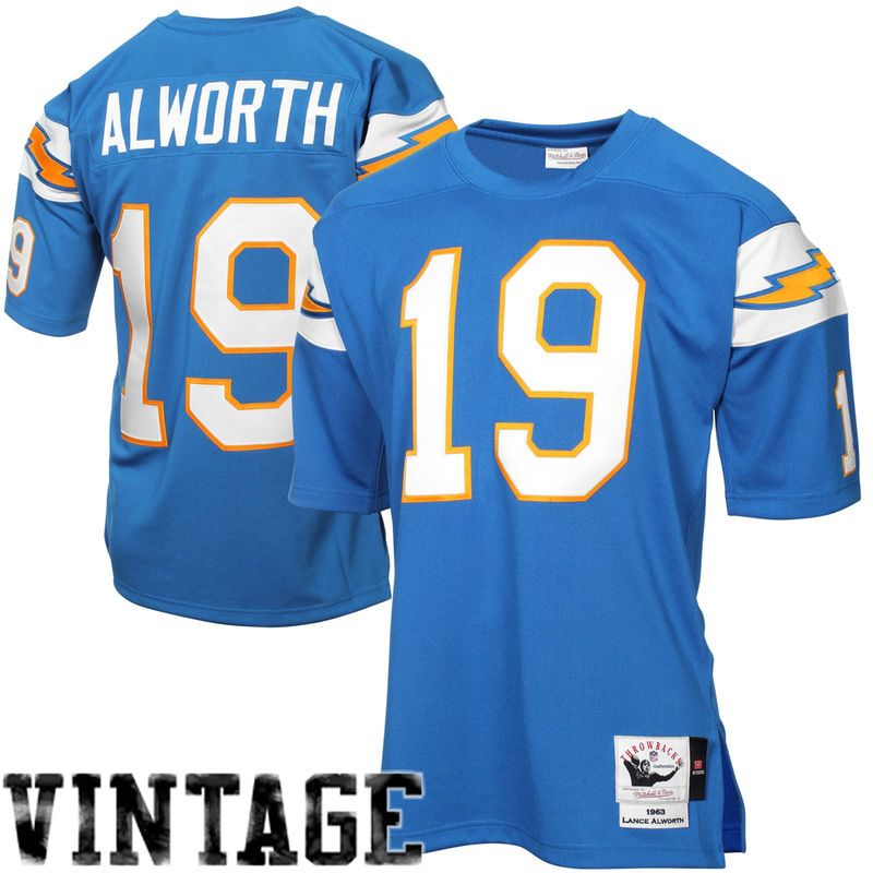 new product b4194 5c469 Lance Alworth San Diego Chargers Mitchell & Ness Authentic ...