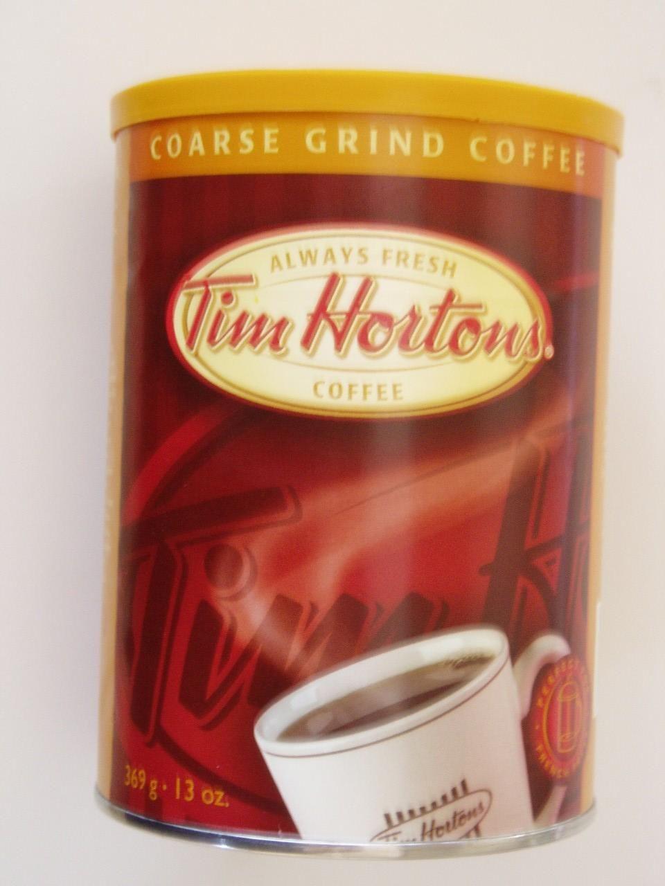 Tim Horton's coffee top favorites Tim hortons coffee