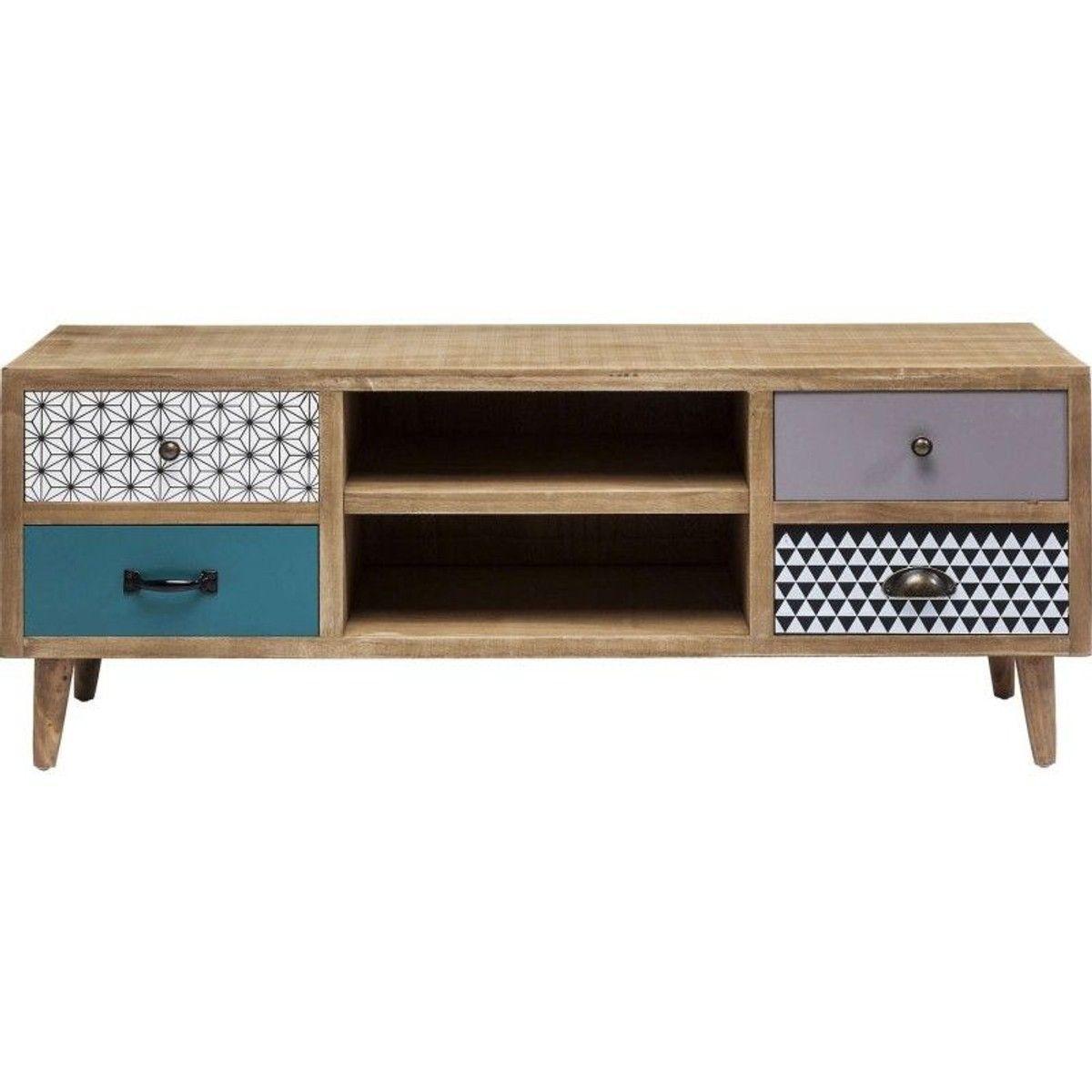 meuble tv capri kare design taille
