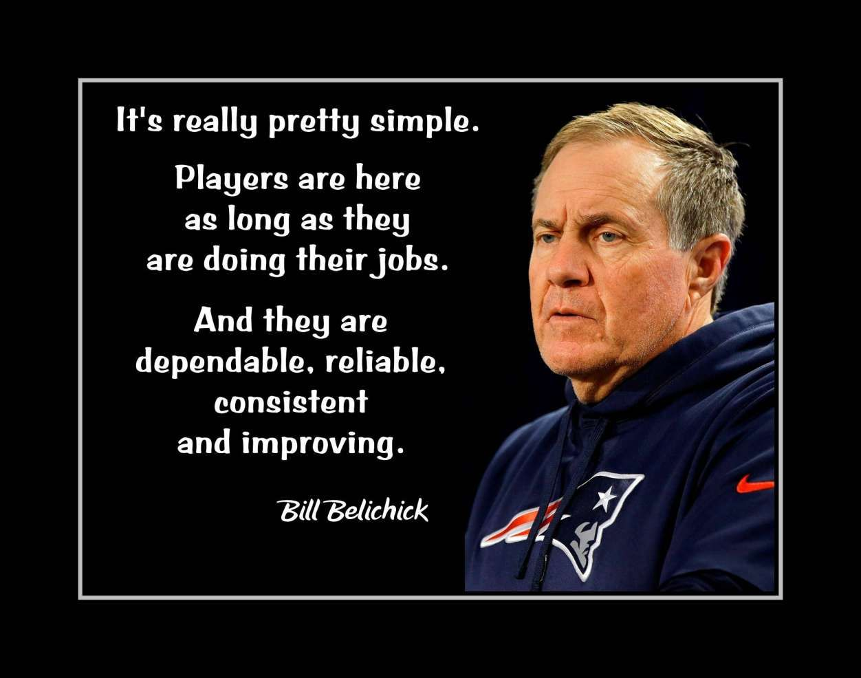 10 Bill Belichick Inspirational Quotes Inspiration Quotesjoke Com In 2020 Inspirational Quotes Wall Art Leadership Quotes Inspirational Quotes