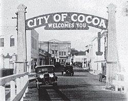 Historic Cocoa Village Florida Mosquito Beateremories