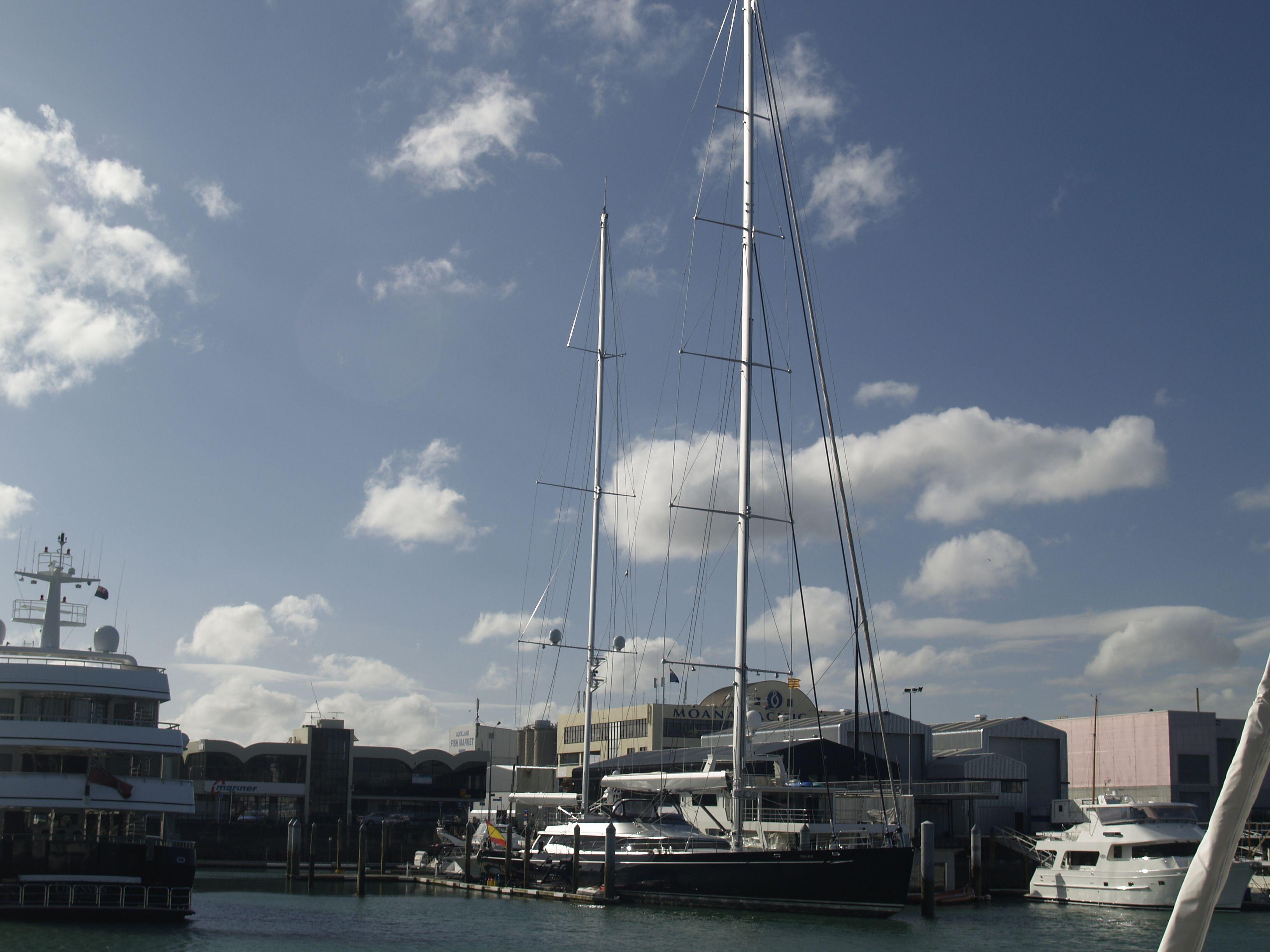 El puerto de auckland