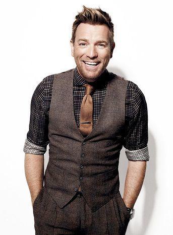 Look de moda  Chaleco de vestir de lana de tartán en marrón oscuro ... f03e554ab07