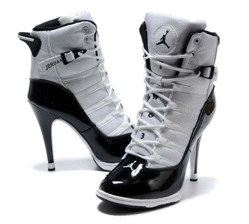 Zapatillas de deporte de tacón alto zapatillas altas nike