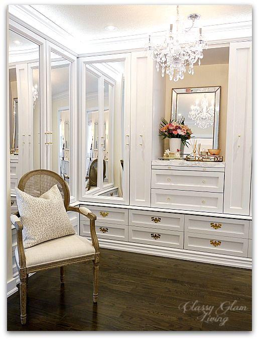 Diy Custom Closet Dressing Room Video On The Blog