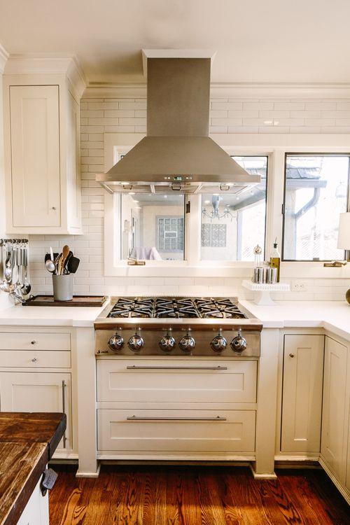 Custom Gas Stove Cooktop Cabinet | Grand Junction Custom Cabinet Maker |  Timeless Millworks