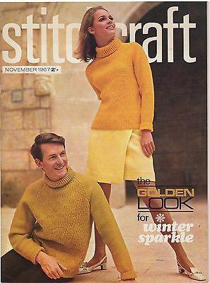 January 1967 Vintage Stitchcraft Magazine