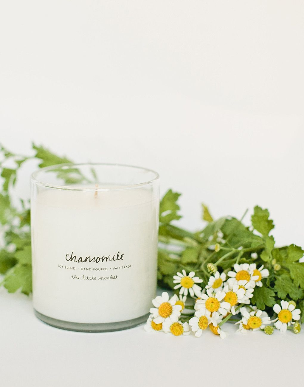 Fair Trade Chamomile Scented Soy Candle
