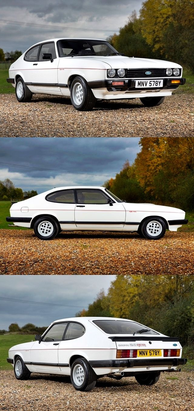1983 ford capri coupe old cars pinterest ford. Black Bedroom Furniture Sets. Home Design Ideas