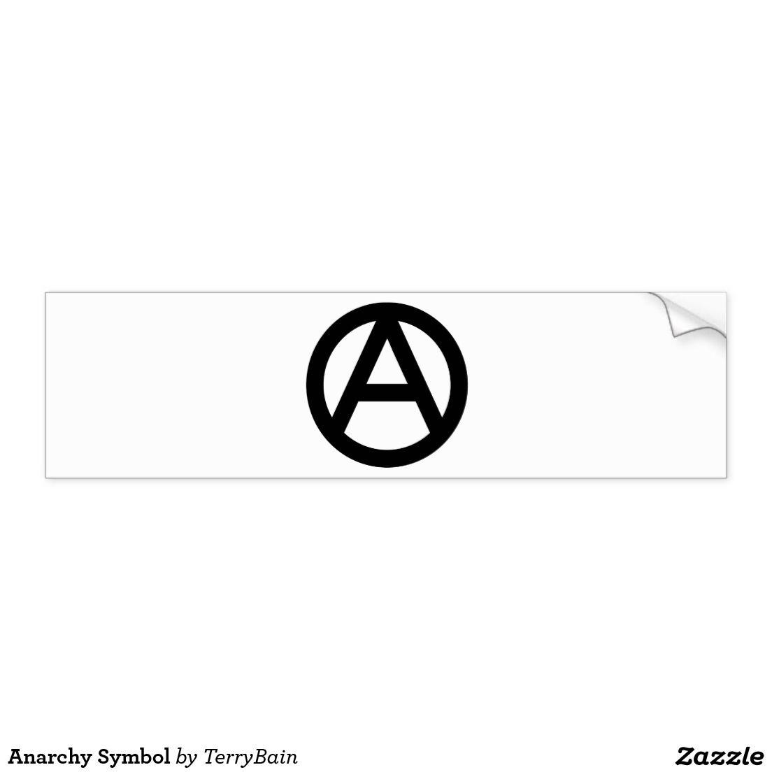 Anarchy symbol button anarchy and symbols buycottarizona