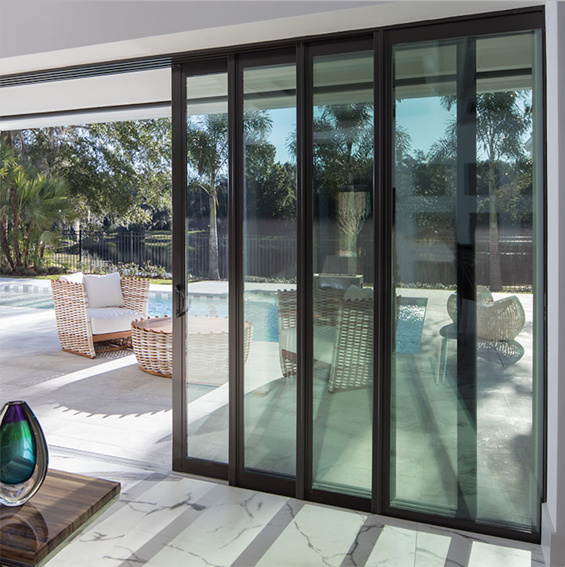 4780 4880 Pocket Sliding Patio Doors Ply Gem Patio Doors Sliding Patio Doors Exterior Doors With Glass