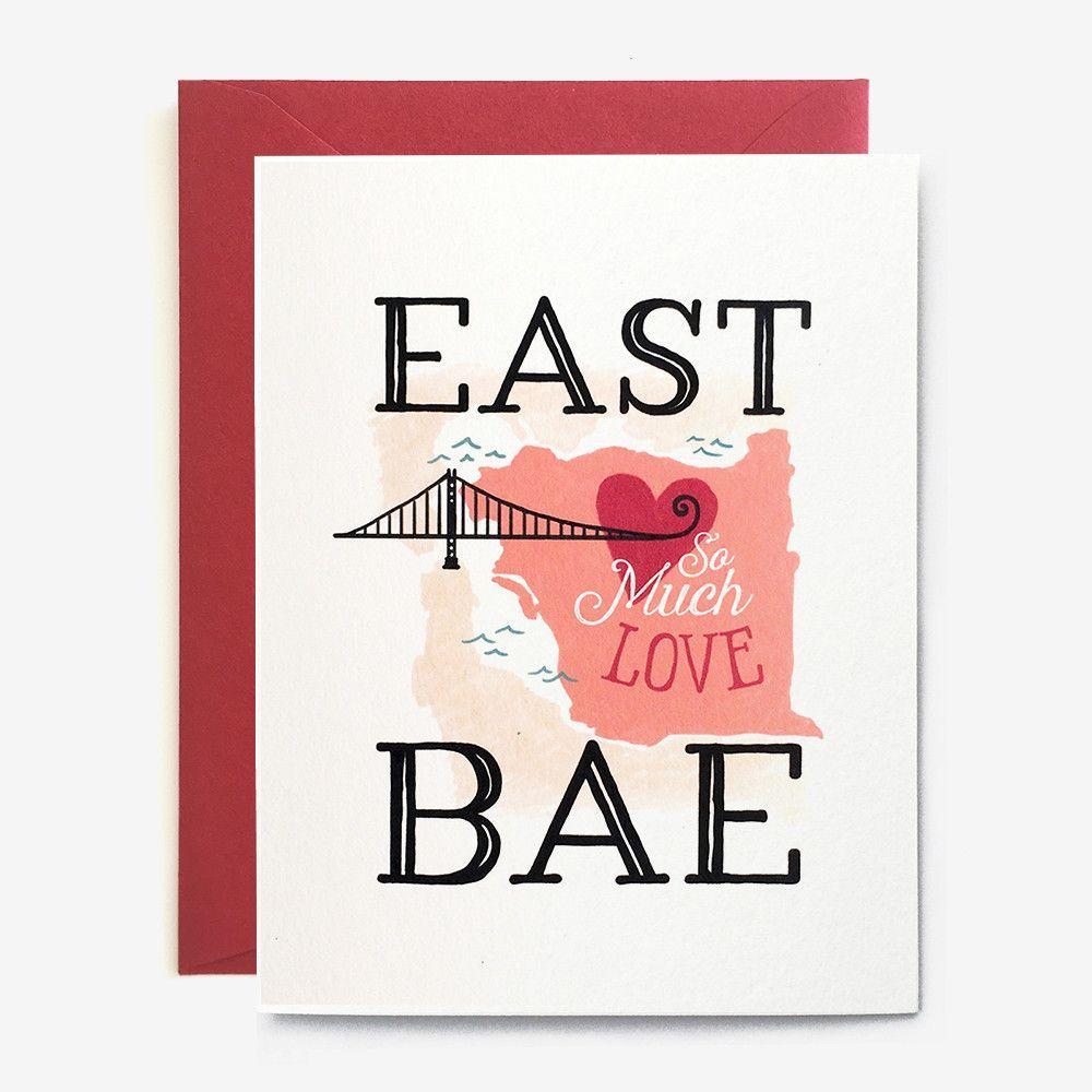 East Bae Love Card