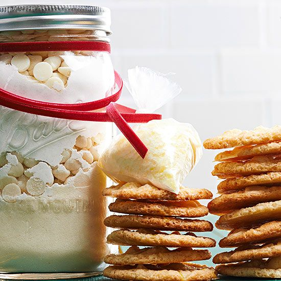 Christmas Food Gifts Recipes Wring Ideas Using Jars