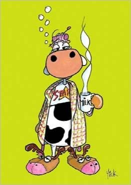 Sunday morning by jacques bosse dit yack jacques boss - Vache dessin humour ...