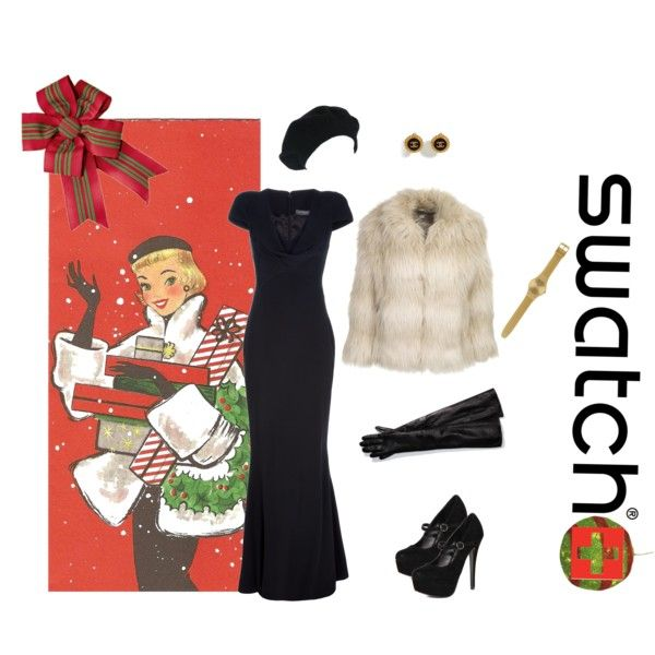 again not so much with the coat The Art of Gifting with Swatch
