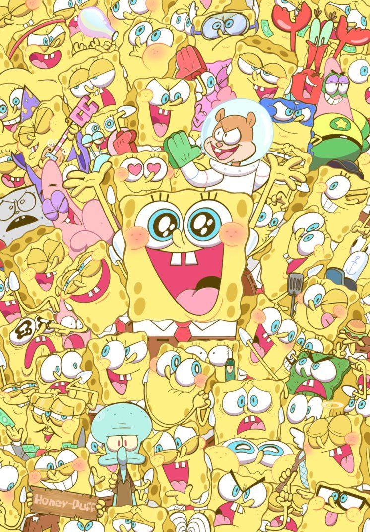 Spongies! by HINOKI-pastry on DeviantArt