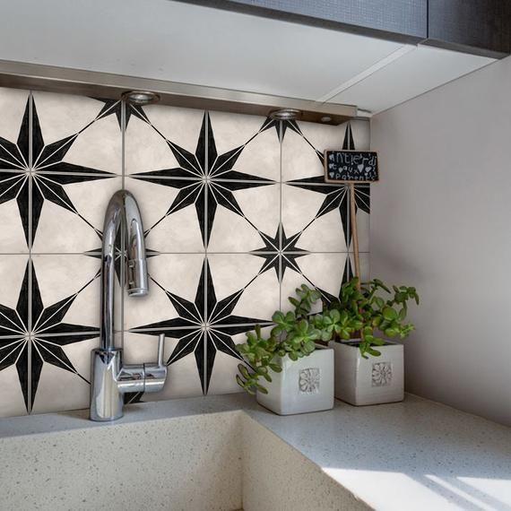 Kitchen And Bathroom Splashback Removable Vinyl Wallpaper Etsy Vinyl Wallpaper Bathroom Splashback Splashback