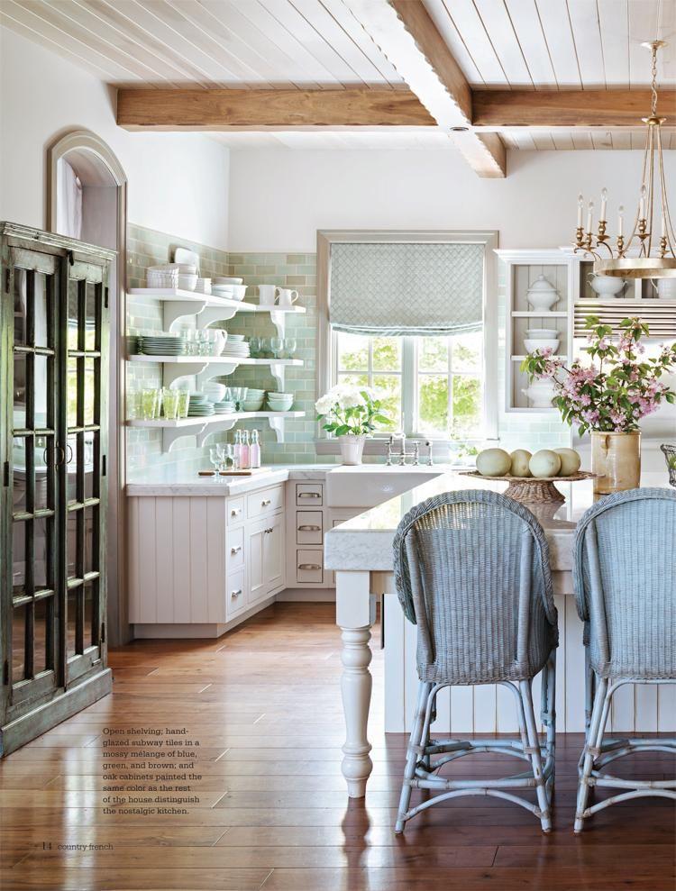 Cocinas vintage con muebles restaurados cocinas vintage - Muebles restaurados vintage ...