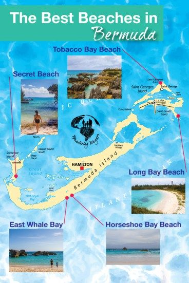 best beaches in bermuda map In Search Of The Best Bermuda Beach Bermuda Beaches Bermuda best beaches in bermuda map