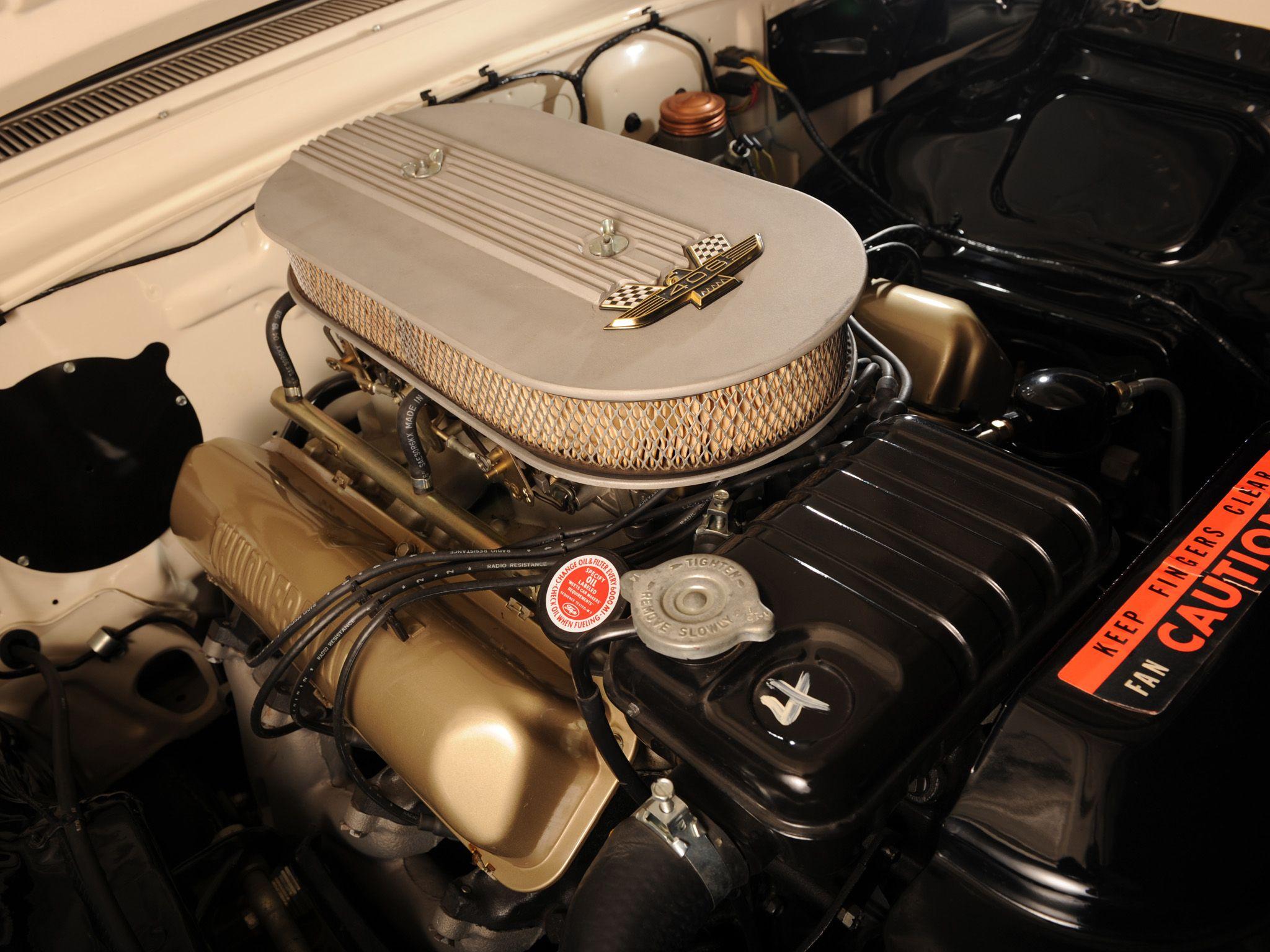 1962 406 Engine Ford Galaxie Galaxie Race Cars