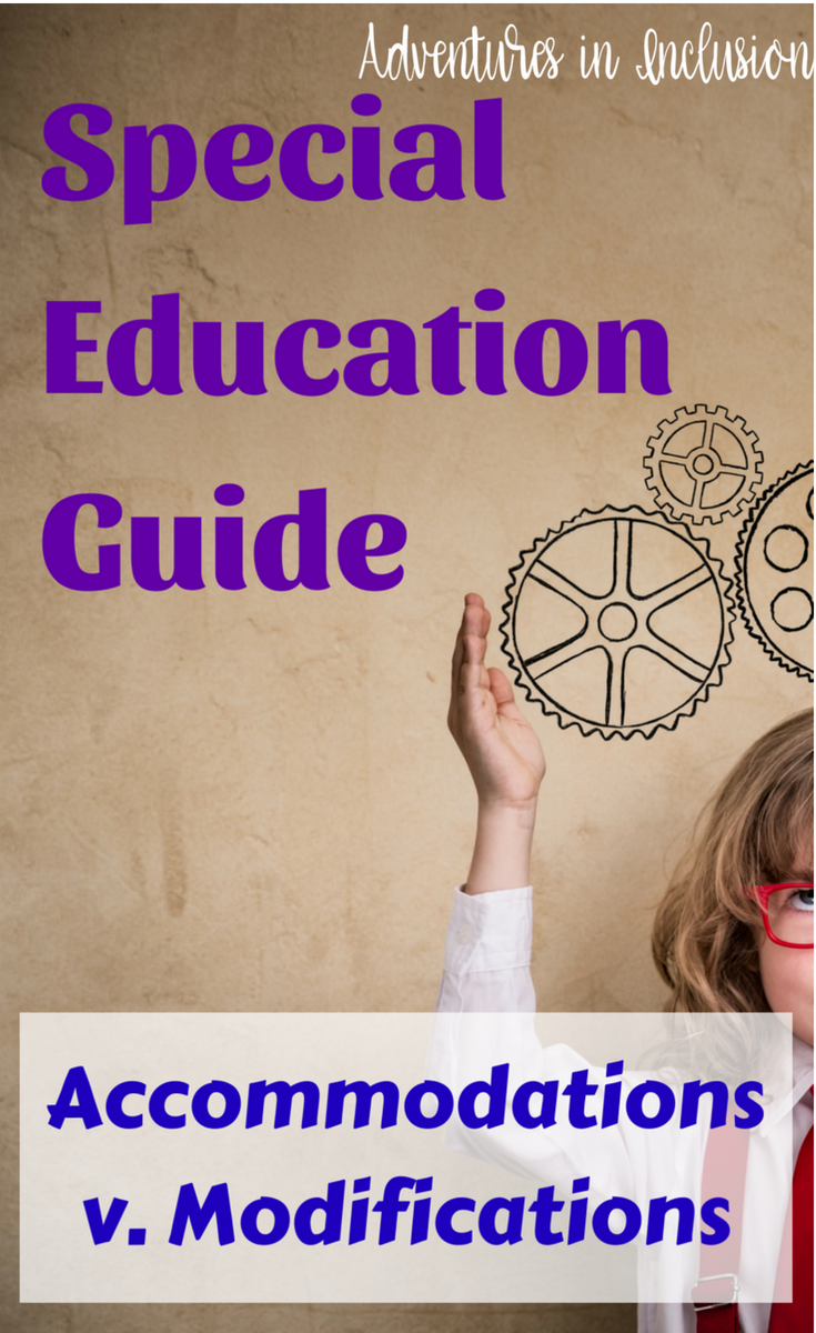 The Difference Between Accommodations And Modifications >> Special Education Guide The Difference Between Accommodations And