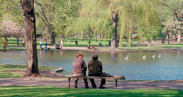Good Will Hunting Favorite Scenes From Matt Damon Ben Affleck More Boston Good Will Hunting Robin Williams Cinemagraph