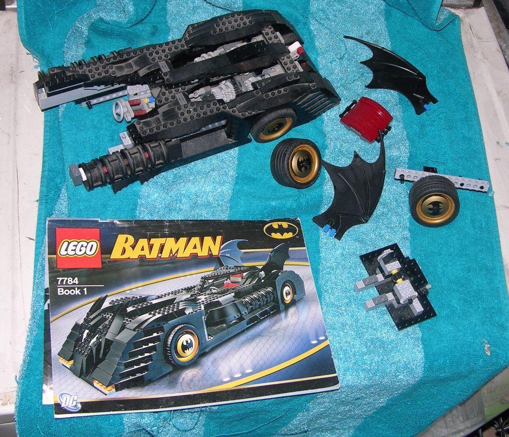 Lego Batman Batmobile Parts And Instructions 7784 Dc Comics Stuff