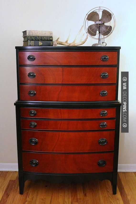 Best Cool Beautiful Mahogany Refinished Vintage Dresser From 400 x 300