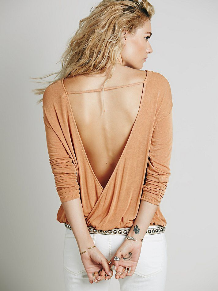 Free People Back Together Tee at Free People Clothing Boutique