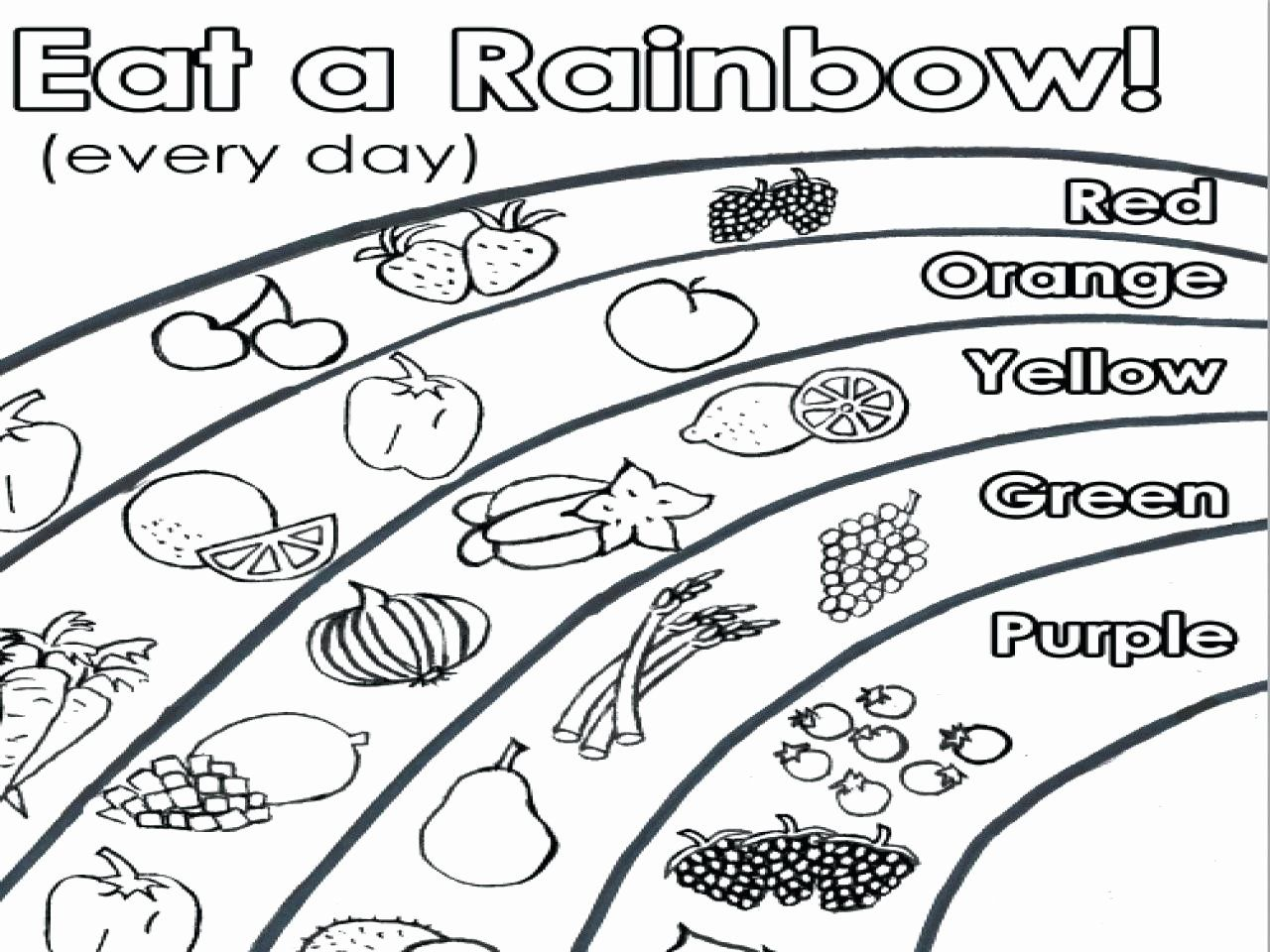 Free Nutrition Coloring Pages