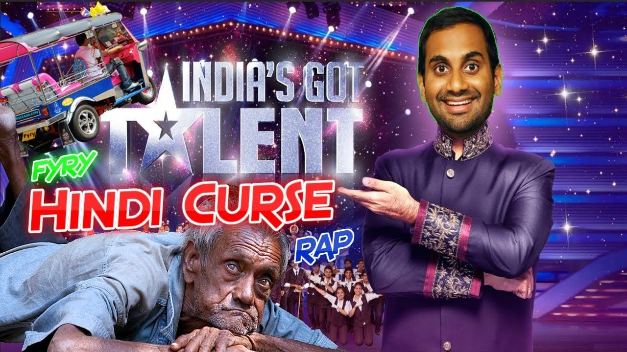 Hindi Curse On India's Got Talent Funny pictures, Funny