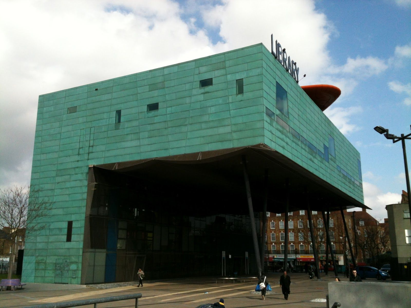 Will Alsop's copperclad Peckam Library (With images