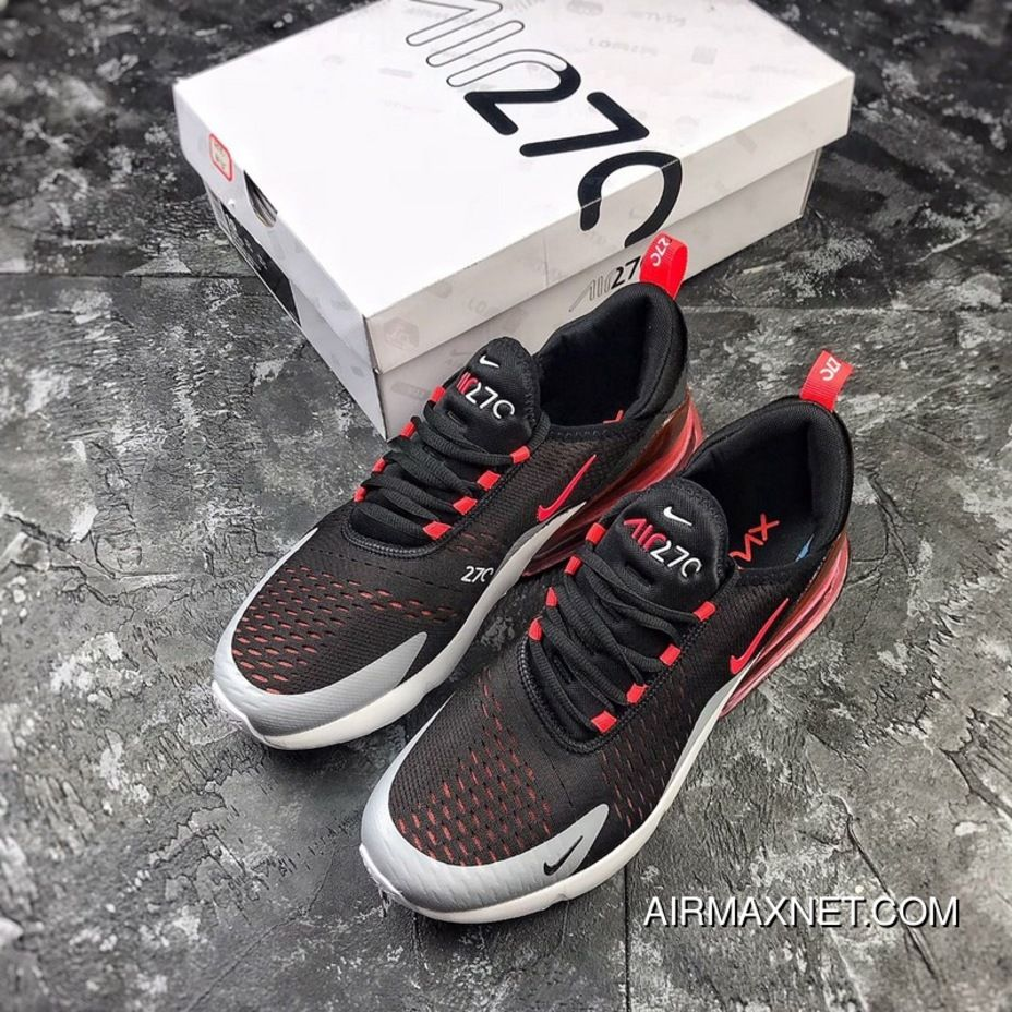 new arrival f8adb 272a5 NIKE Air Max 270 New Colorways Volcanic Red Retro Wind Half-palm As Zoom  AH8050-015 New Release