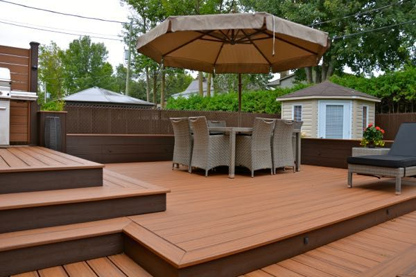 Patio Plus - Patios à niveaux DECKS Pinterest Decking