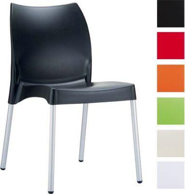 Gartenstuhl design  hochwertiger Design Gartenstuhl, Küchenstuhl, Stapelstuhl VITA ...