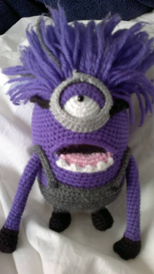 my very own purple minion! | Crochet toys | Pinterest | Crochet ...