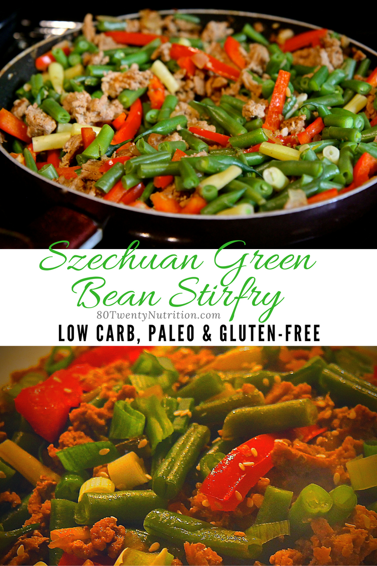 Szechuan Green Bean and Minced Turkey Stirfry | Recipe ...