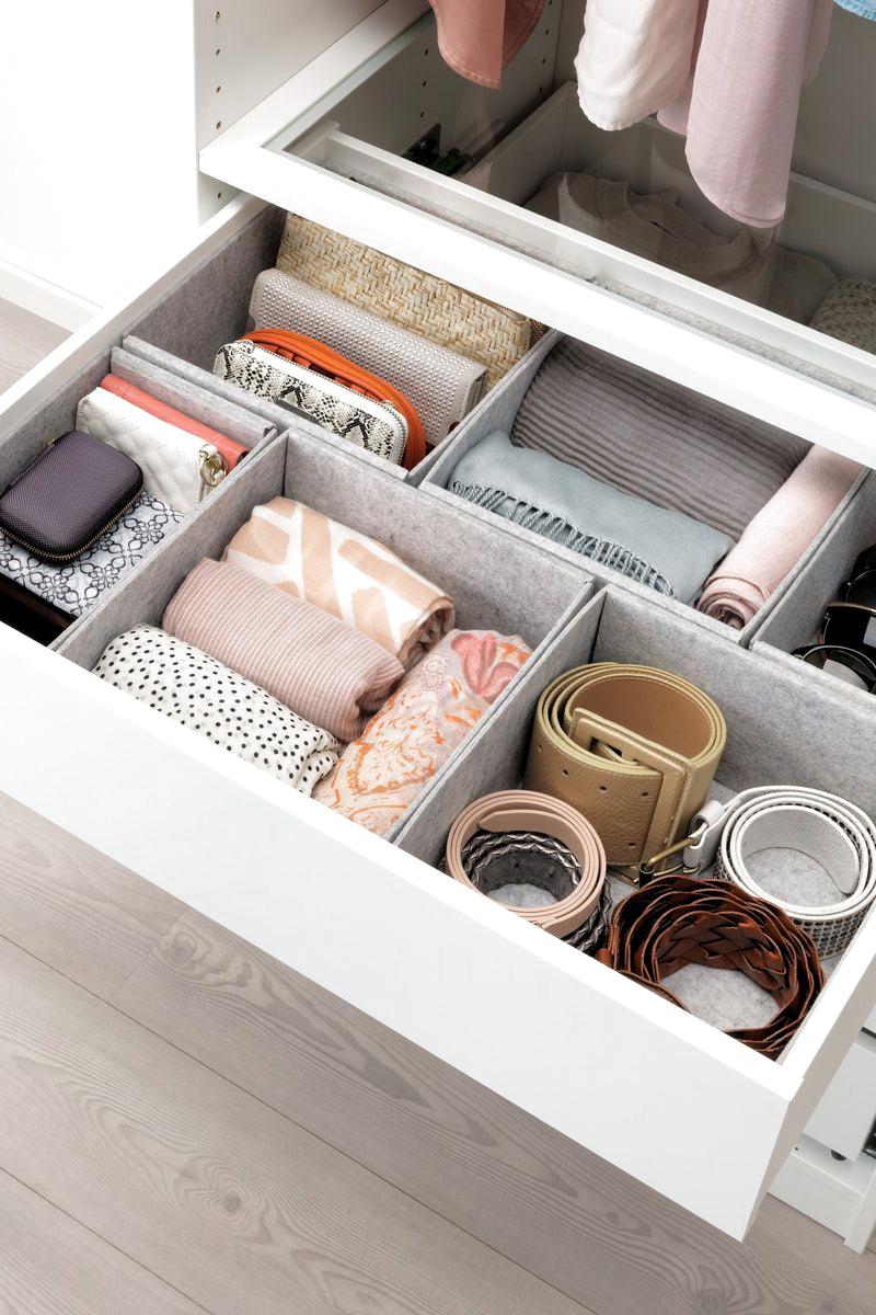 Schubladen Ordentlich Halten Mit Komplement Box Set Grau Ikea