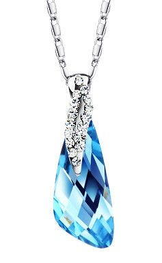 Drop Pendant SWAROVSKI Crystal Elements*Perfect #Valentine's Day# Gift* from $24.99